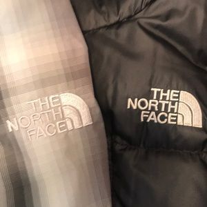 North Face Boys reversible down winter jacket